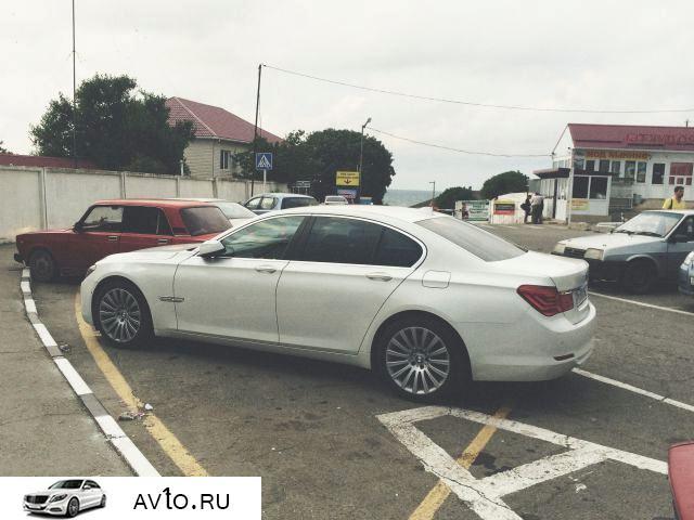 Аренда arenda bmw krasnodarskij kraj novorossijsk 6   BMW 7