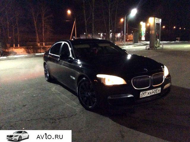 Аренда arenda bmw moskovskaya oblast elektrogorsk 3   BMW 7