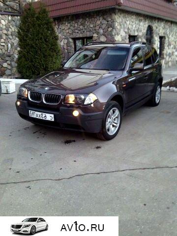 Аренда arenda bmw samara 7   BMW X3