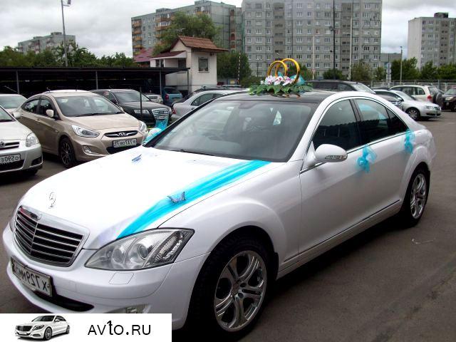 Аренда arenda mercedes s class kaliningrad 6   Mercedes S class
